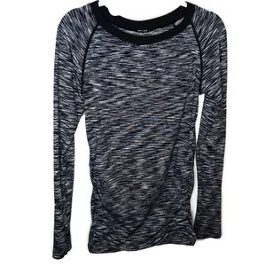 Climawear long sleeve top. Size large black/white